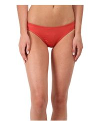 Patagonia | Red Solid Sunamee Bottoms | Lyst