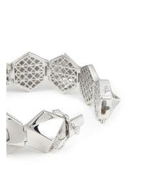 Eddie Borgo | Metallic Bent Pyramid Bracelet | Lyst