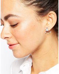 Vivienne Westwood | Metallic Pia Crystal Earrings | Lyst