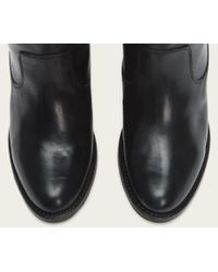 Frye | Black Jackie Button Wide | Lyst