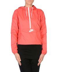 Nike - Pink Jacket - Lyst