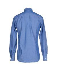 Aspesi | Blue Shirt for Men | Lyst