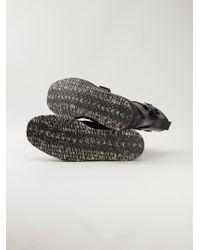 Marni Black Crepe Sole Boots for men