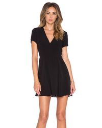 Lovers + Friends Black X Revolve Cassidy Jersey Dress