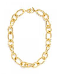 BaubleBar - Metallic Gold Twist Links - Lyst