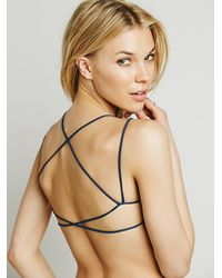Free People | Blue Sunkissed Strappy Back | Lyst