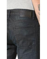 Calvin Klein Jeans - Black Slim Straight Leg Jeans for Men - Lyst