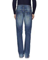 Sun 68 - Blue Denim Trousers for Men - Lyst