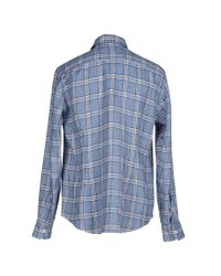 Salvatore Piccolo | Blue Shirt for Men | Lyst
