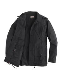J.Crew | Black Wallace & Barnes Military Jacket for Men | Lyst