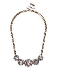BaubleBar - Blue Crystal Zodiac Necklace - Lyst