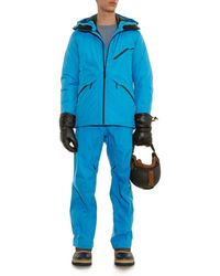 Aether Blue Apex Ski Pants for men