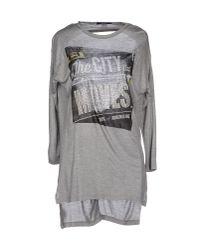 Relish - Gray T-shirt - Lyst