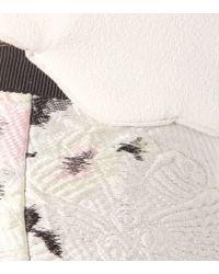 Giambattista Valli Multicolor Jacquard Cloqué Dress