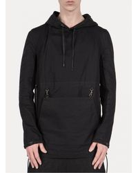 Y. Project - Black Hooded Pullover for Men - Lyst