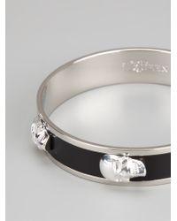 Alexander McQueen | Black Skull Bracelet | Lyst
