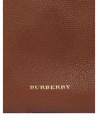Burberry - Brown Small Canterbury Check & Leather Bag - Lyst