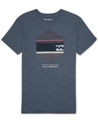 Billabong | Blue Hexx Graphic T-shirt for Men | Lyst