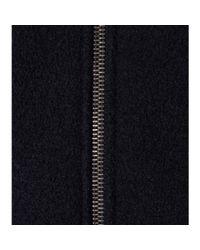 Carven - Black Wool Jacket - Lyst