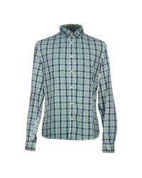 Guess | Green Shirt for Men | Lyst