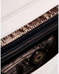 Love Moschino - Natural Medium Fabric Bag - Lyst