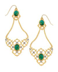 Alexis Bittar | Metallic Gilded Muse Dore Oval Woven Earrings | Lyst