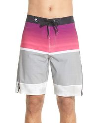 Rip Curl - Gray 'mirage Aggrogame' Board Shorts for Men - Lyst