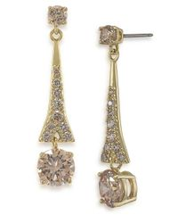 Carolee | Metallic The Looking Glass Recolor Drop Earrings | Lyst