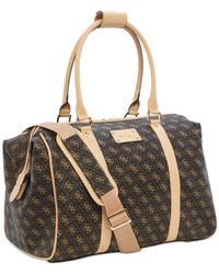 Guess Brown Logo Affair Dlx Doctor's Tote