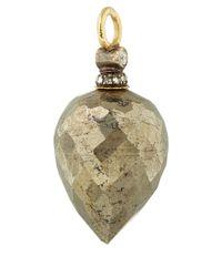 Annoushka - Metallic Gold Pyrite And Diamond Alchemy Earring Drops - Lyst
