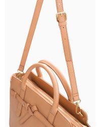 Mango | Brown Knot Cross-Body Bag | Lyst