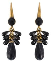 Isabel Marant | Black 'polly Magoo' Earrings | Lyst
