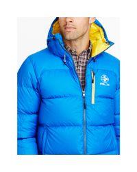 Ralph Lauren | Blue Water-resistant Down Jacket for Men | Lyst