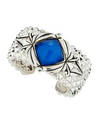 Stephen Webster | Blue Spiked Crystal Haze Bracelet | Lyst