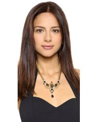 Elizabeth Cole - Metallic Mcpherson Necklace - Jet Fleck - Lyst