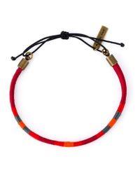 Isabel Marant Red Double Bracelet