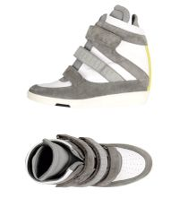 Dirk Bikkembergs - Gray High-tops & Trainers - Lyst