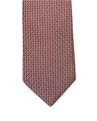 Lanvin | Pink Jacquard Triangle Silk Tie for Men | Lyst