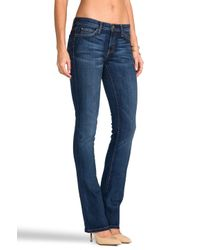 Current/Elliott - Blue The Slim Boot in Townie - Lyst