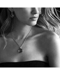 David Yurman | Black Cushion On Point Pendant Necklace With Diamonds | Lyst