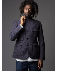 Engineered Garments | Blue Landsdown Jacket for Men | Lyst