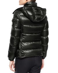 Moncler | Purple Berre Lightweight Hooded Puffer Coat | Lyst