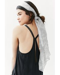 Urban Outfitters | Gray Suki Headwrap | Lyst