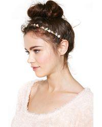 Nasty Gal | Multicolor Flower Girl Jewel Headband | Lyst