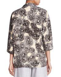 424 Fifth Multicolor Printed Kimono Top