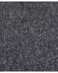 Nudie Jeans - Gray Grey Vladimir Alpaca Melange Knit for Men - Lyst