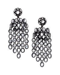 H&M | Black Long Earrings | Lyst