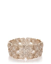 Oasis | Metallic Filigree Stretch Bracelet | Lyst