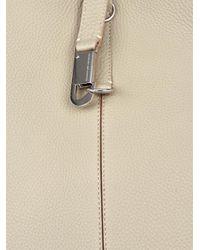 Myriam Schaefer Natural Emily Leather Shoulder Bag