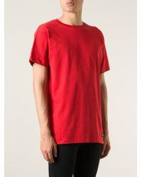 LES (ART)ISTS Red Les (art)ists 'wang 83' T-shirt for men
